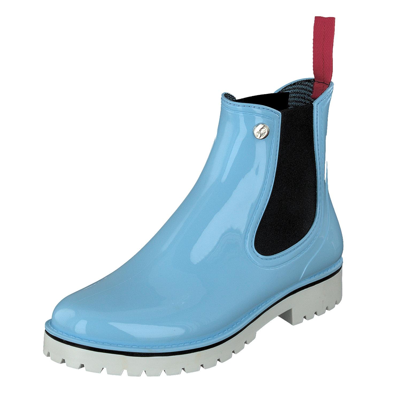 Schuhe 71025 Hellblau Damen Chelsea deike Sylt Shoes Wasserdicht Gosch 88 Gummi aAq7O7R